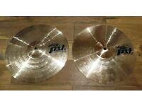 "Paiste PST5 Medium 14"" Hi Hat Cymbals"
