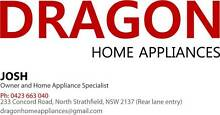 LIDCOMBE DRAGON FRIDGE & WASHER WITH FREE DELIVERY & 3M WARRANTY Lidcombe Auburn Area Preview