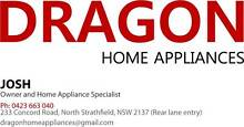 DRAGON 2ND FRIDGE AND WASHER WITH FREE DELIVERY, 3M WARRANTY Camperdown Inner Sydney Preview