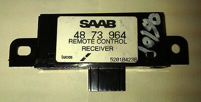 SAAB 9-5 93 9-3 Remote Control Receiver Anti Theft 1998 - 2010 4873964 5265525