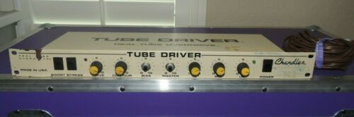 Vintage Chandler Rack Tube Driver 12AX7 Overdrive Rackmount Effects
