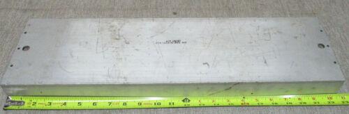 """Aluminum U-Channel 6"""" Wide x 2"""" Tall x 22-1/2"""" Long x 1/4"""" Wall"""