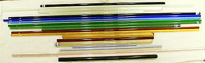colored boro rod coe 33 mix of colors  sample pack