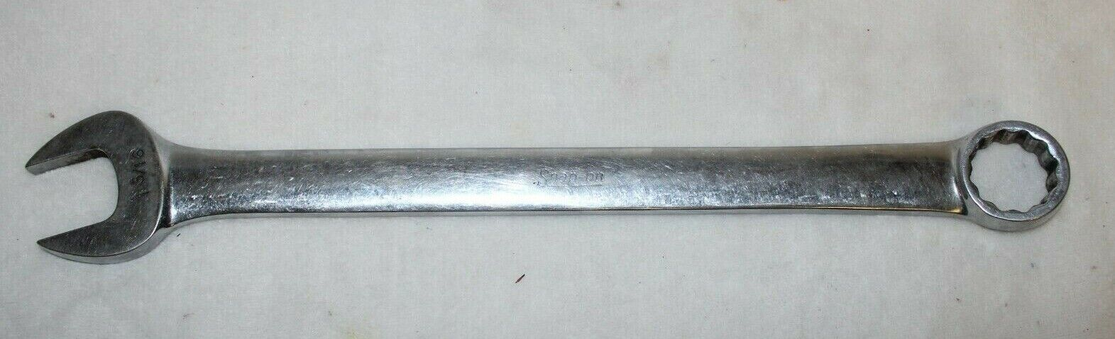 SNAP-ON OEX38 COMBINATION WRENCH 1 3/16
