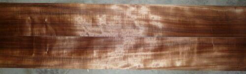 "Koa wood veneer 1/42"" thick 4.5"" wide and 42"" long"
