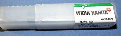 Brand New-hanita Varimil End Mill Long Reach 4 Flute 12 X 0.02 Chamfer