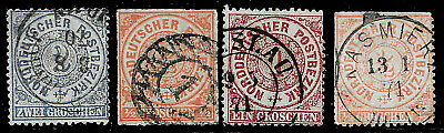 GERMANY NORD DEUTSCHER POSTBEZIRK COLLECTION USED  - $2.93