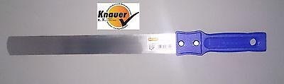 Tapeten-Haumesser Tapeziermesser, Tapetenmesser rostfrei blauer Griff