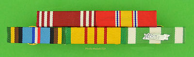 Army 5 Ribbon Bar - Vietnam War & Expeditionary Service