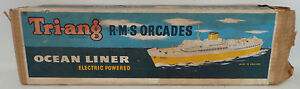 MARITIME : R.M.S ORCADES OCEAN LINER MODEL MADE BY TRI-ANG