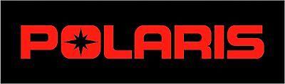 "POLARIS 12"" RED DECAL ATV Snowmobile Sticker RMK Switchback Rush RZR Ranger"