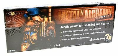 Scale 75 Metal N Alchemy - Copper Paint Set - 38752