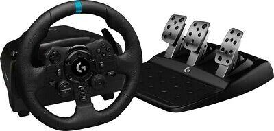 Logitech G923 Volante de Carreras + Pedales Para PS5/PS4 Y PC Negro...