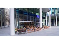 Bartender needed - £8-£10 per hour including service The Refinery @ Regent's Place