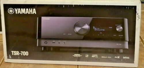 Yamaha TSR-700 7.2-Channel Network A/V Receiver with 8K HDMI and MusicCast NEW