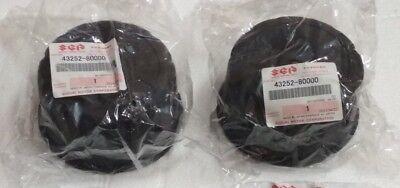 Suzuki SJ Samurai Rear Wheel Center Caps Hub Hubcaps Set New SGP Genuine 86-95