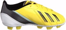 BOYS ADIDAS Football Boots shoes JUNIOR Size UK 5 F TRX HG J Yellow G65442 boys size 5 and 5.5