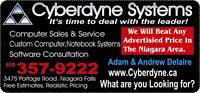Cyberdyne has over 22 years of service Flat Rate Service, Repair