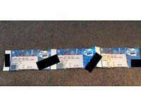 ** CAPITAL SUMMERTIME BALL ** 3rd row 3 tickets seated together