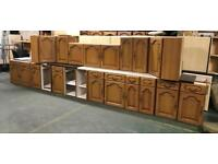 Real Wood kitchen units cabinets Can deliver uk