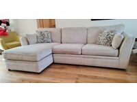 3 Seater Sofa with Left Hand Facing Chaise