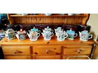 Sadler Classic collection teapots