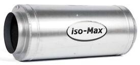 "USED - 10"" Isomax Acoustic Silent Fan 2310 m3/hr - Hydroponics"