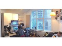Great office, music studio, video edit space for rent In Soho, London (approx 5 desks)