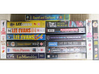 VHS Video Tapes - James Bond and more.