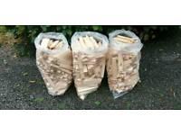 Bags kindling sticks near Newport