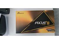 Seasonic 650FX fully modular Gold PSU + Bitfenix Alchemy 2.0 NVG Green/Black cables