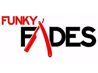 **(((Funky Fades Mobile barber to your door step only £7.00)))**