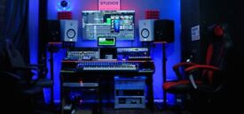 PROFESSIONAL RECORDING STUDIO/ MIXING & MASTERING/ FROM Only £25 PH