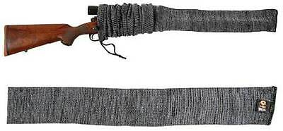 """Allen 52"""" Knit Rifle Scope Gun Sock Cover Gray Grey Hunting Shooting NEW"""