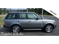 Range Rover Vogue 3.6 TDV8 DIESEL 2007 57 Met Grey, beautiful large luxury 4x4, hist and long mot!