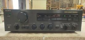 Vintage Sony TA-F444ES II Integrated Stereo Amplifier. 2 x 100W