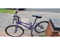 """24"""" MOUNTAIN BIKE FOR SALE, 18 GEARS AND SUITABLE FOR AGES 7 - 12 (Maybe even 6 - 14 years old)"""