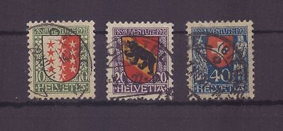 Schweiz 172-174 gestempelt, Pro Juventute
