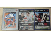 Play Station 2 & PC Games