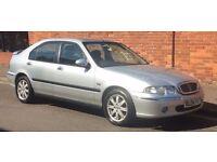 2004 Rover 45 Diesel Long MOT 5 Door £12.68 a month road tax **55 + MPG**
