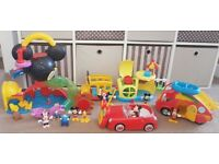 IMMACULATE Mickey Mouse 🐭 Playset