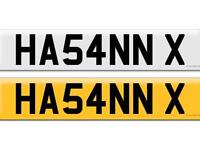 HA54NNX HASSAN HASAN X ASIAN NUMBER PLATE