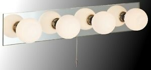 Marco Tielle 'Hollywood' 4 Globe Over Mirror / Bathroom Wall Light. IP44.