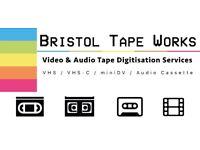 Video Digitisation: VHS / VHS-C / miniDV