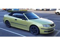 Saab 93 2litre Turbo Convertible for sale 2003