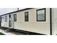8 berth caravan to hire available 14th July for 7 nights