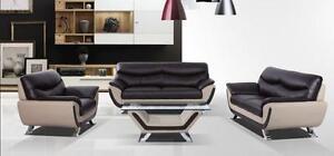 LORD SELKIRK FURNITURE - Liquidation Sale! 3PC Riley Sofa, Loveseat & Chair in Leather Gel -$1199.00
