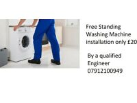 Washing machine Sales And installation by a Gas Safe Engineer