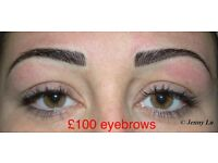OFFER ONLY £80 MICROBLADING EYEBROWS TATTOO, £100 SEMI PERMANENT MAKE UP MAKEUP