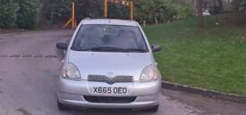 TOYOTA YARIS AUTOMATIC 1.3L 90K 12 MONTH MOT IDEAL FIRST CAR CHEAP TO INSURE